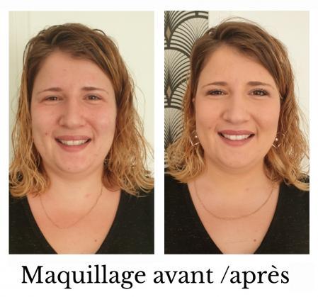 Maquillage celine dutertre l institut du bien etre st meloir des ondes 1